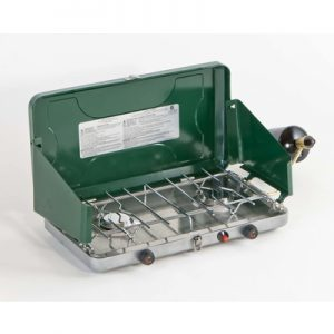 2-Burner Stove with Tray 4580