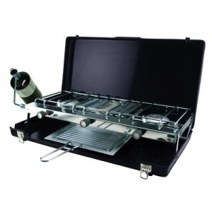 Ultima Deluxe 3-Burner Stove with Broiler 4586