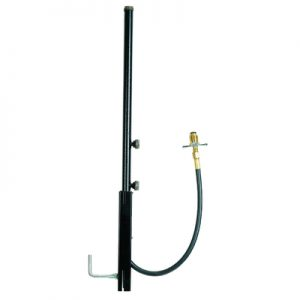 30 in. P.O.L. Tri Outlet Safety Post 9060